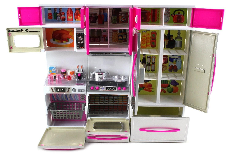 My Modern Kitchen Full Deluxe Kit Battery Operated Kitchen Playset ...