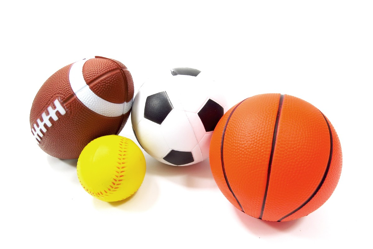 Set Of 4 Sports Balls For Kids Soccer Ball Basketball