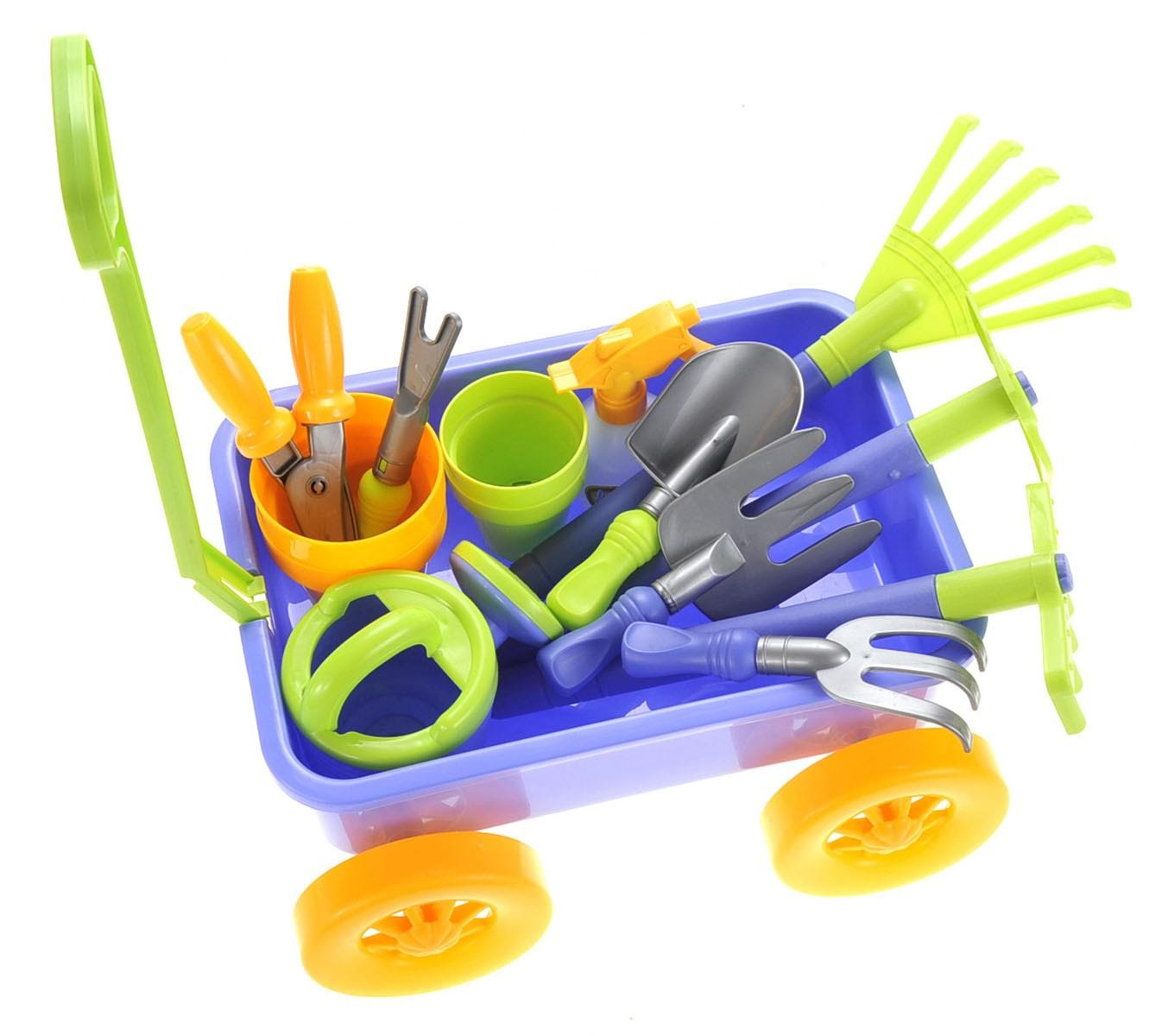 Garden Wagon Amp Tools Toy Set Tool Sets Toy Playsets