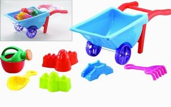 6 pcs Beach Toys (Colors May Vary)
