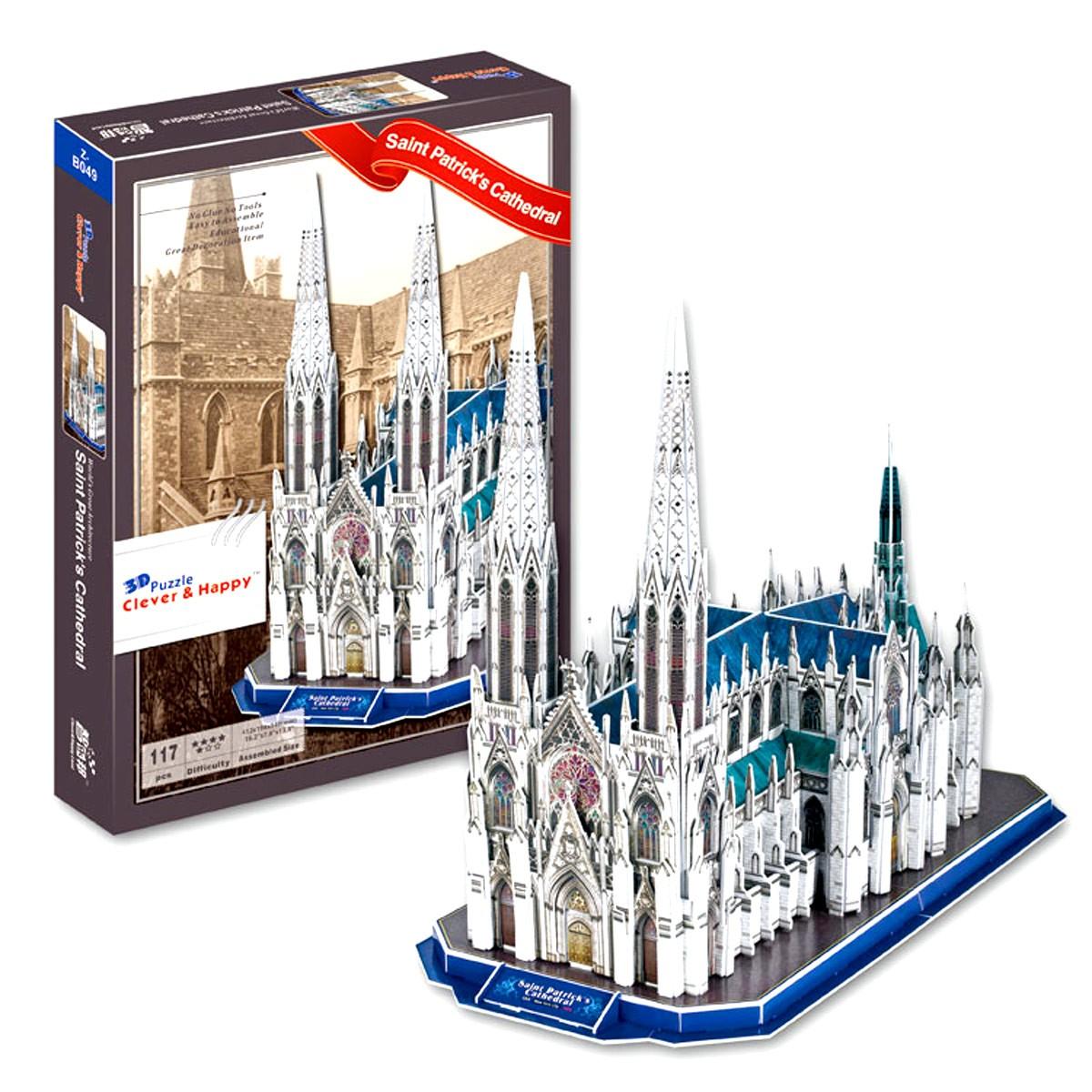 St. Patrick's Cathedral 3D Puzzle (117 pcs)