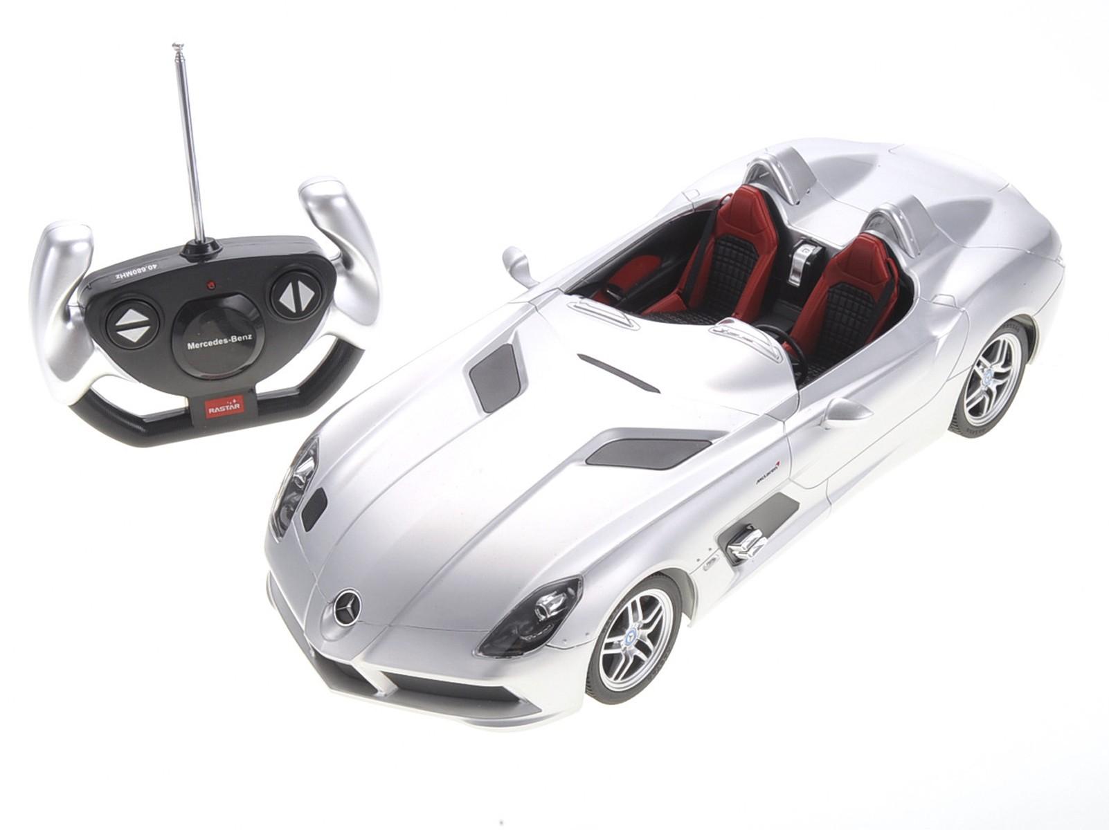 """11"""" 1:12 Mercedes-Benz SLR Silver MBSLR12S"""