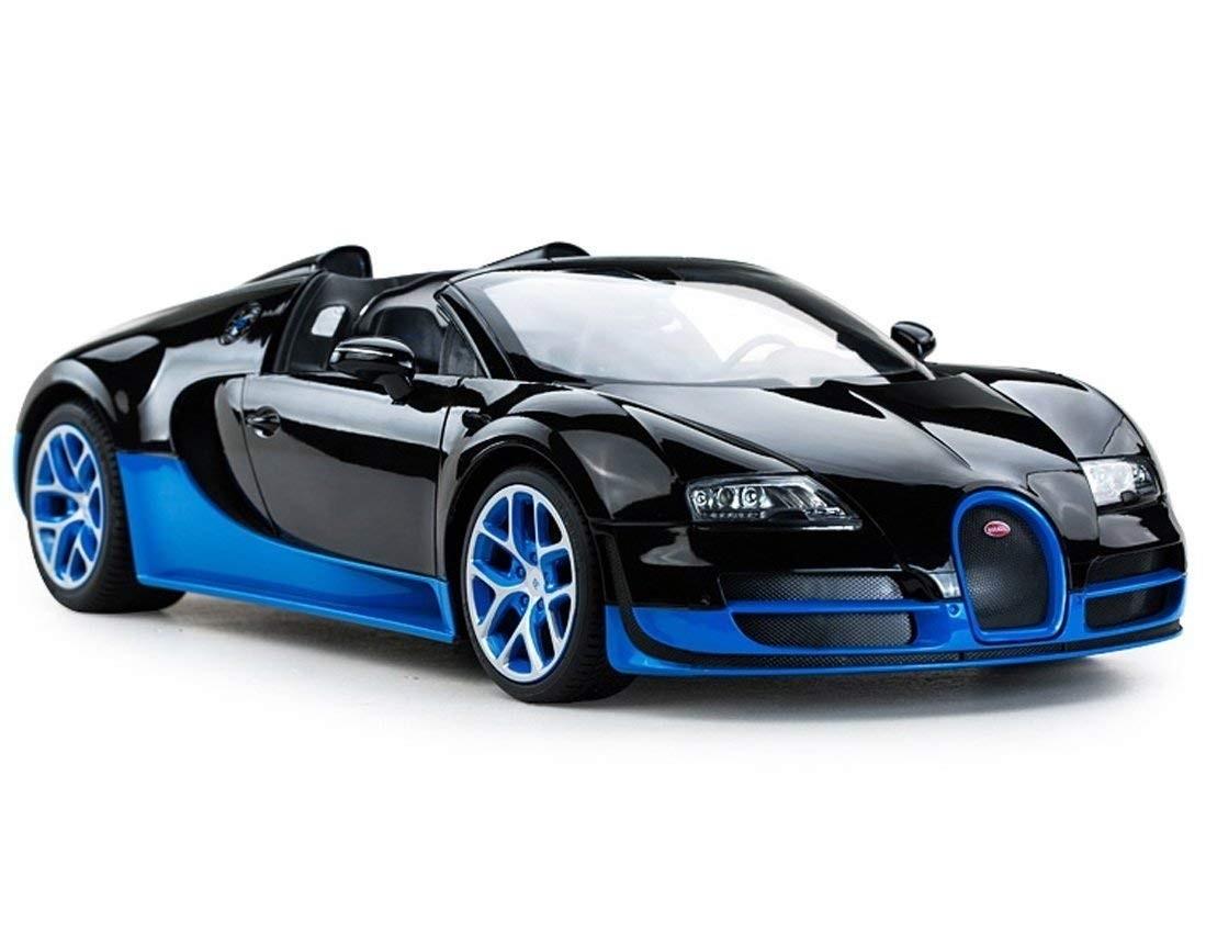1:14 RC Bugatti Veyron Grand Sport Vitesse Car (Black/Blue)