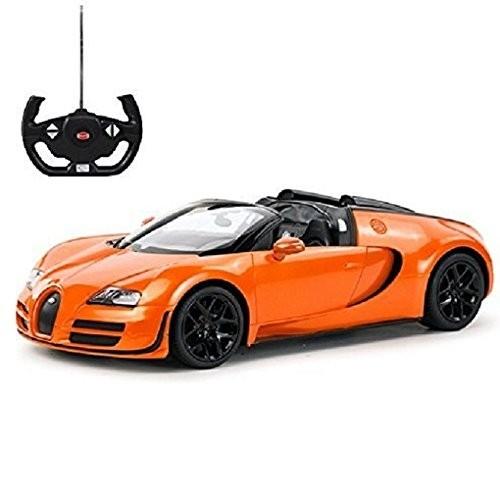 1:14 RC Bugatti Veyron Grand Sport Vitesse Car (Orange)
