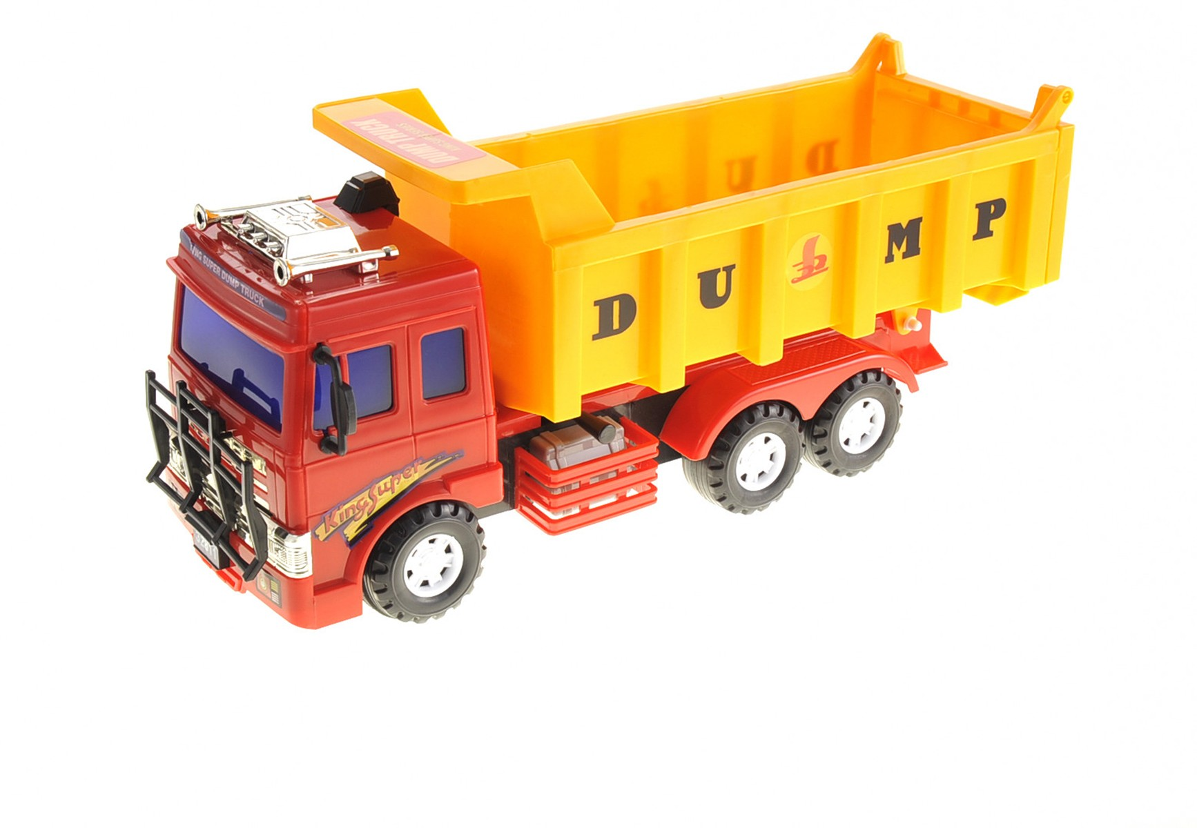 Big Dump Truck Toy for Kids with Friction Power (Heavy Duty)