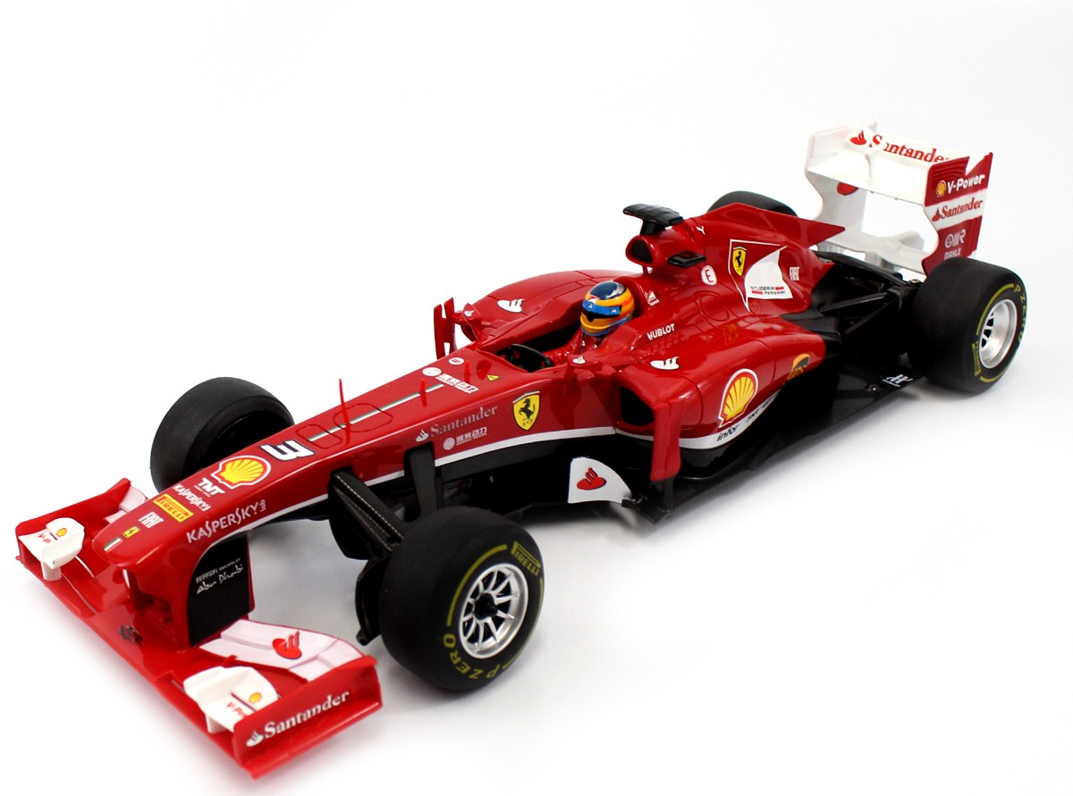 Licensed Ferrari F138 Electric RC Car Big Size 1:12 Scale Formula One F1 RTR