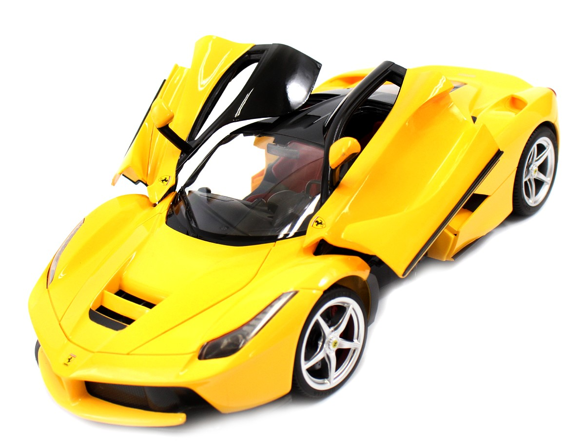 1:14 RC LaFerrari Model RTR With Open Doors (Yellow)
