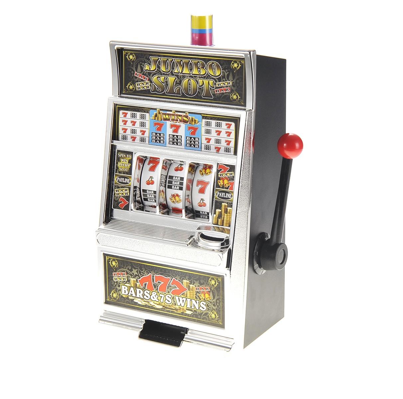Jumbo Slot Machine Money Bank