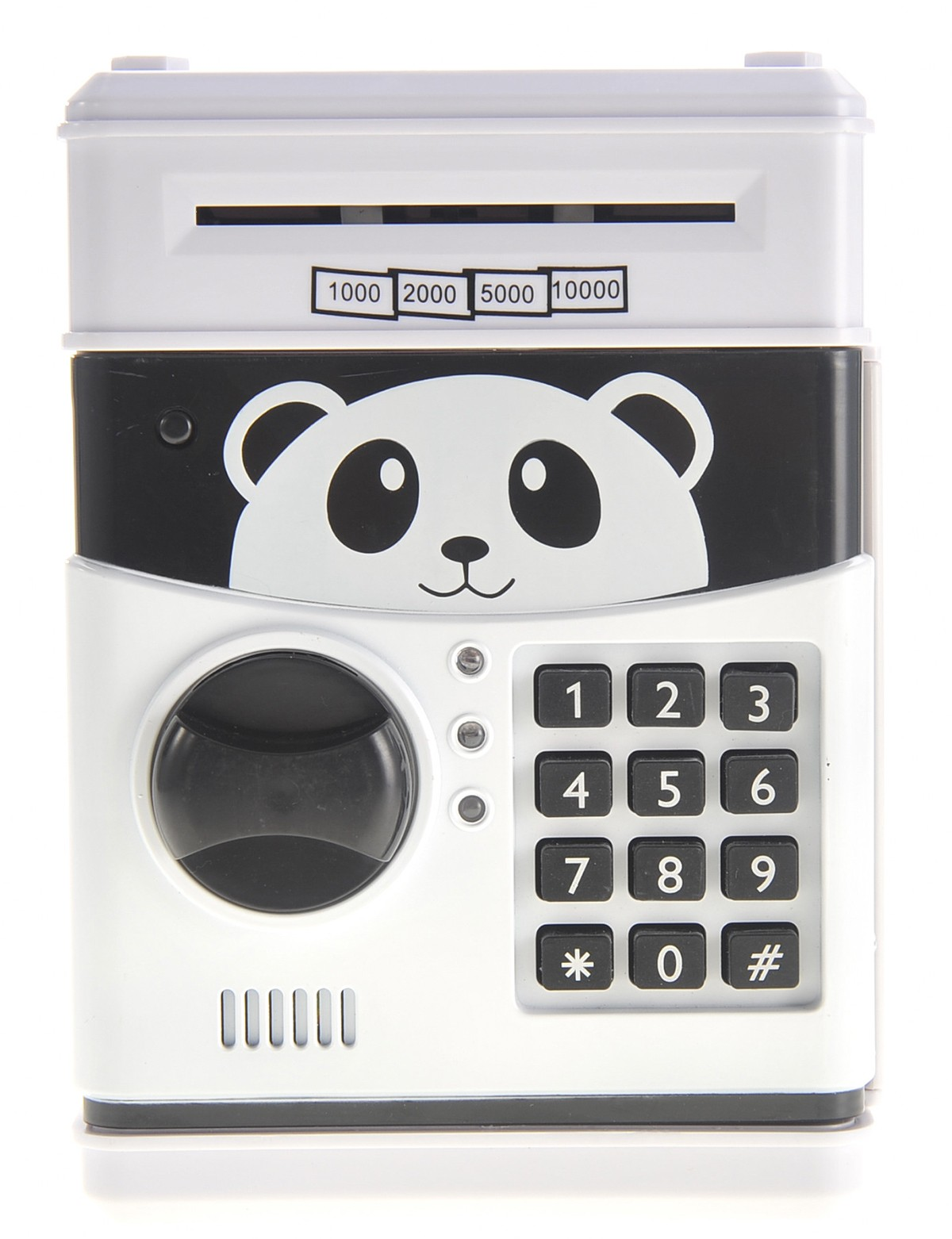 Cartoon Panda Electronic Password Piggy Coin Bank