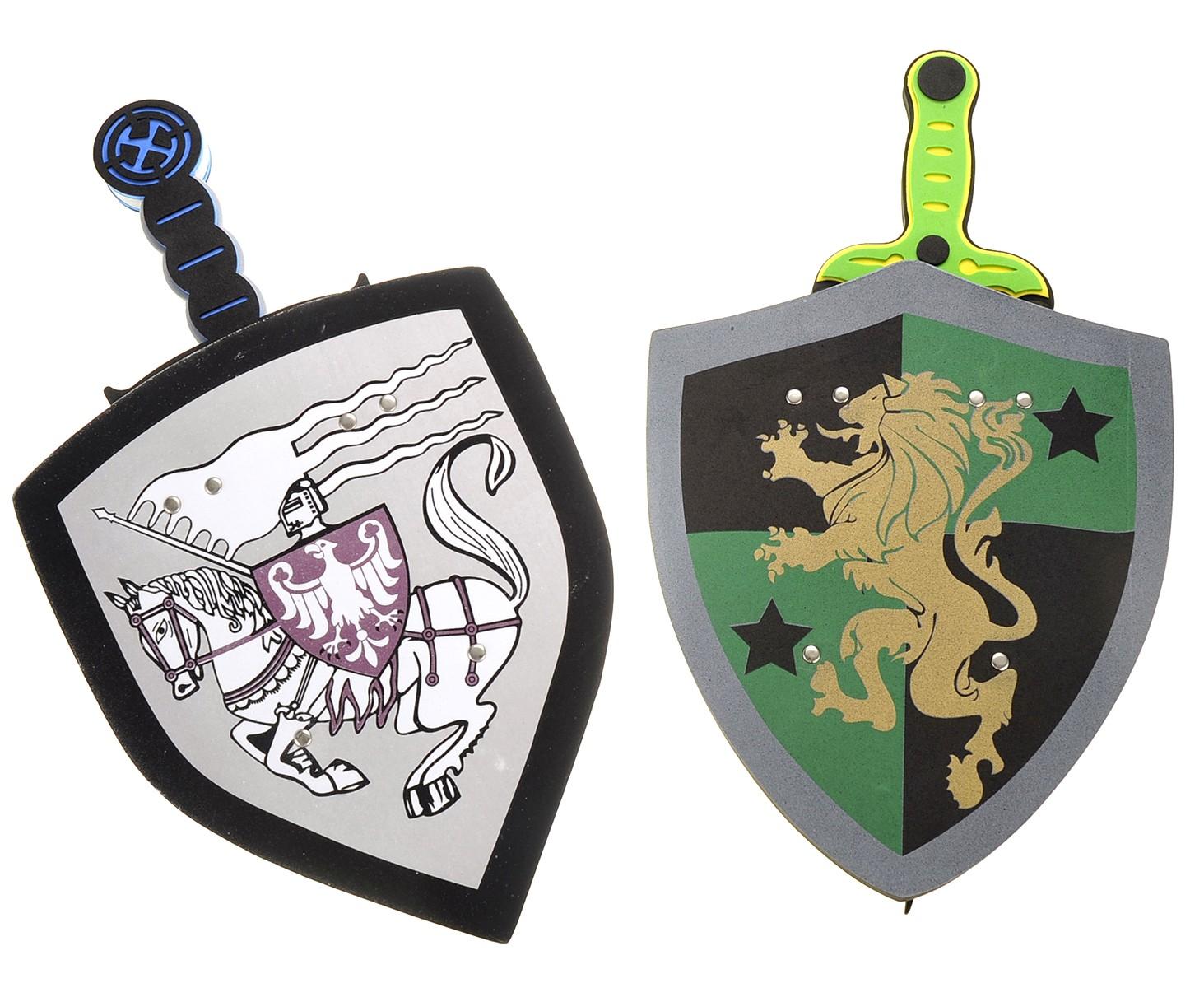 Foam Swords And Shields (White Eagle VS Golden Lion)