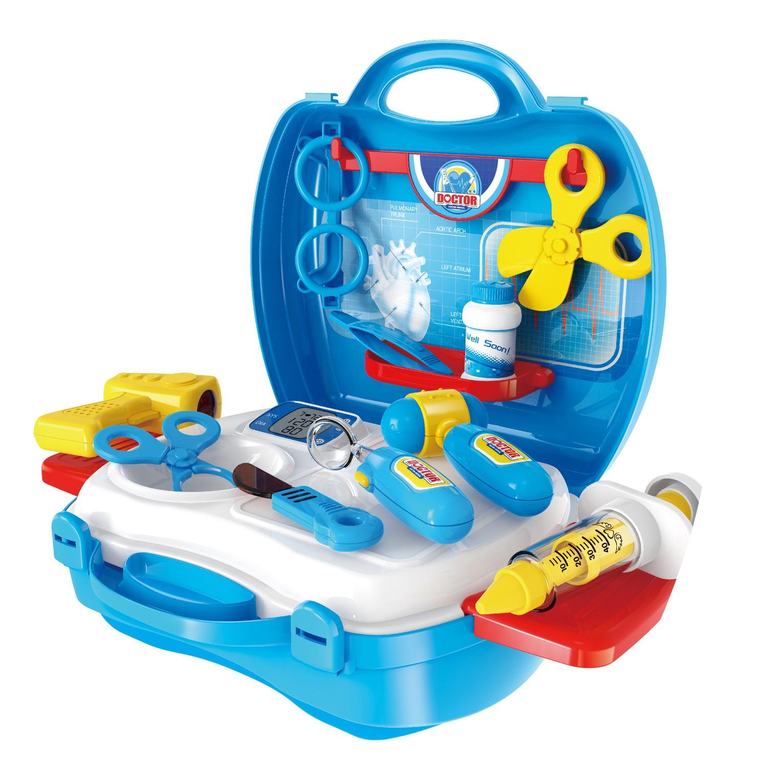 Portable Doctor Case Play Set 18pcs