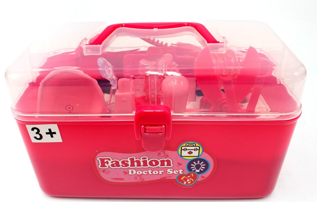 Doctor Nurse Medical Kit Playset (Pink)