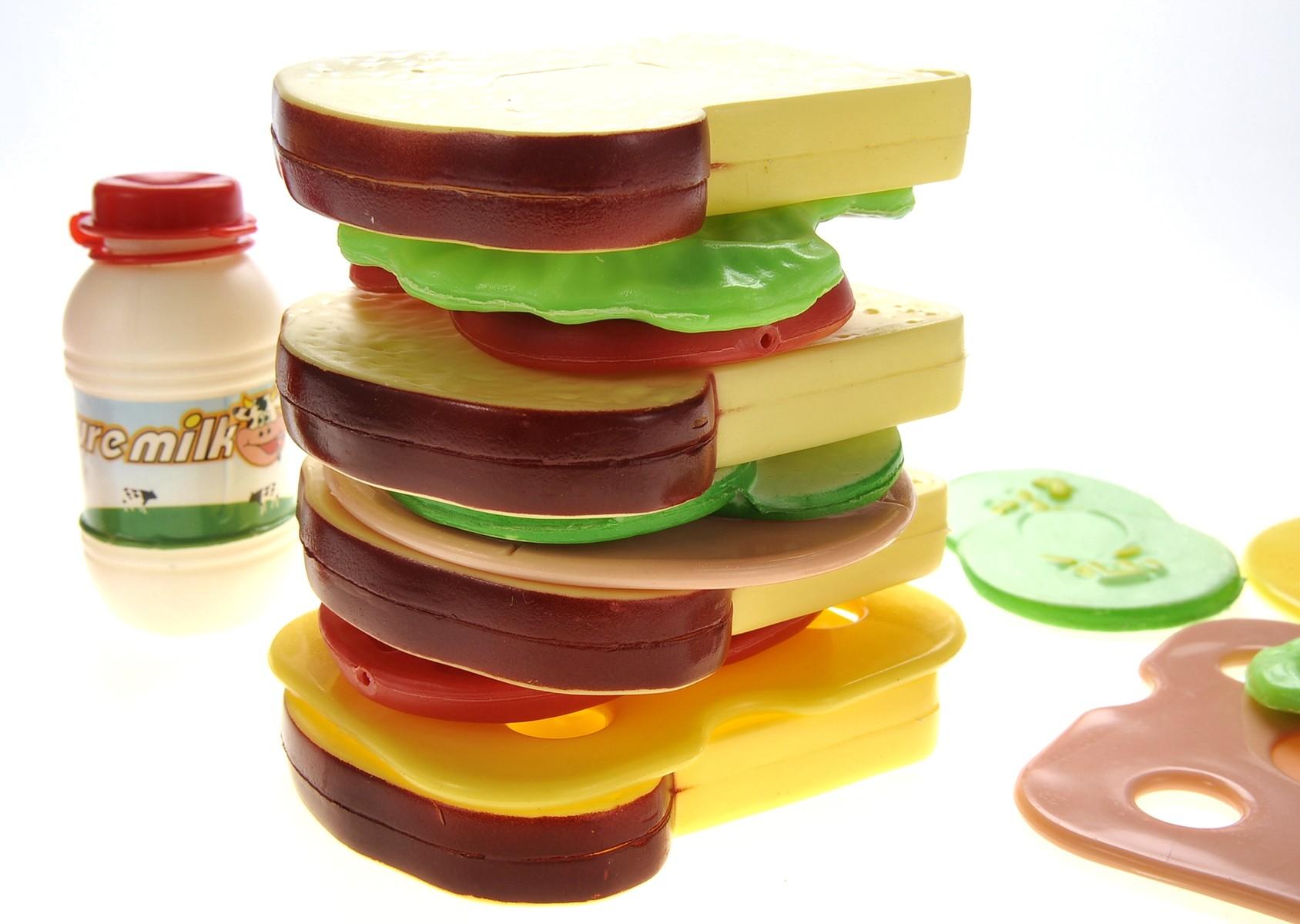 16pcs Country Club Sandwich Playset