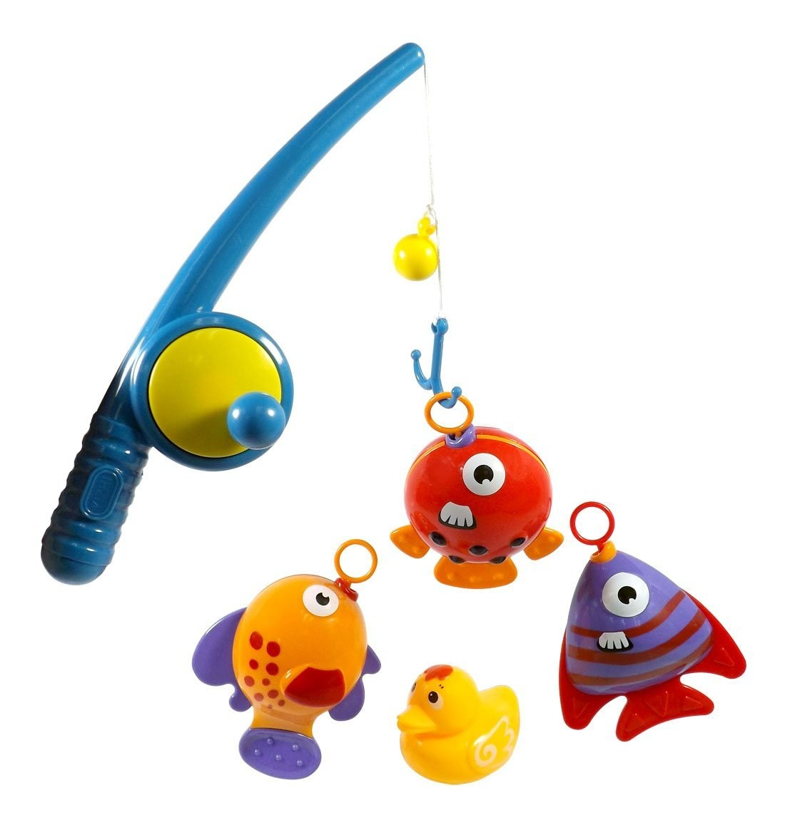 Hook and Reel Fishing Toy Playset for Kids