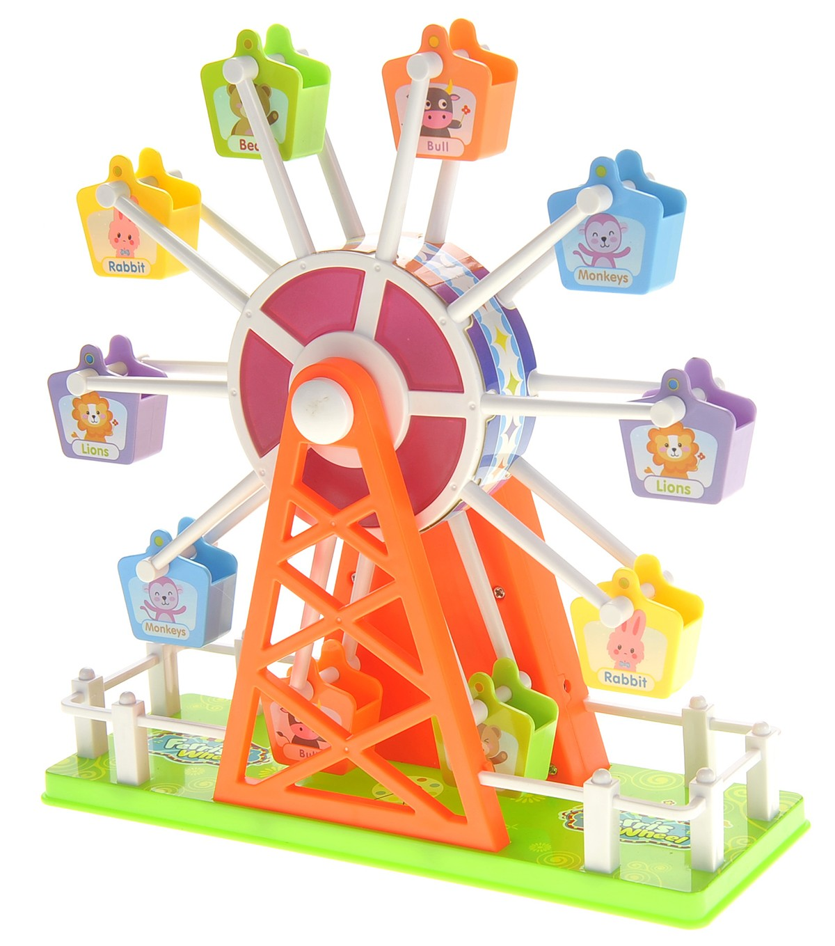Merry Go Round Electronic Ferris Wheel Toy with Music and Lights