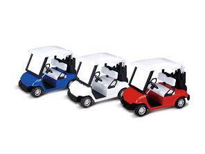 "4.5"" Die-Cast Metal Golf Cart Toy 6pcs"