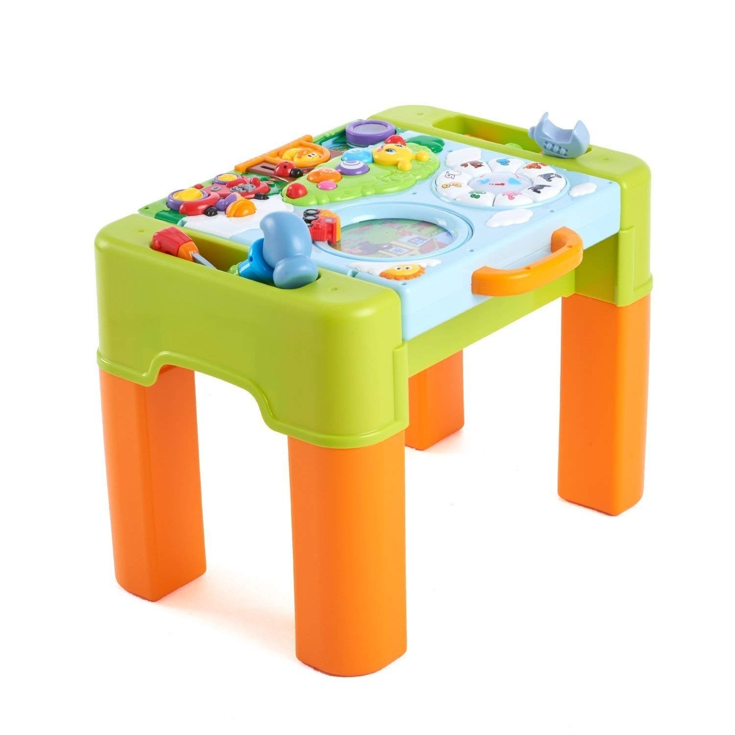 6 In 1 Educational Learning Activity Desk