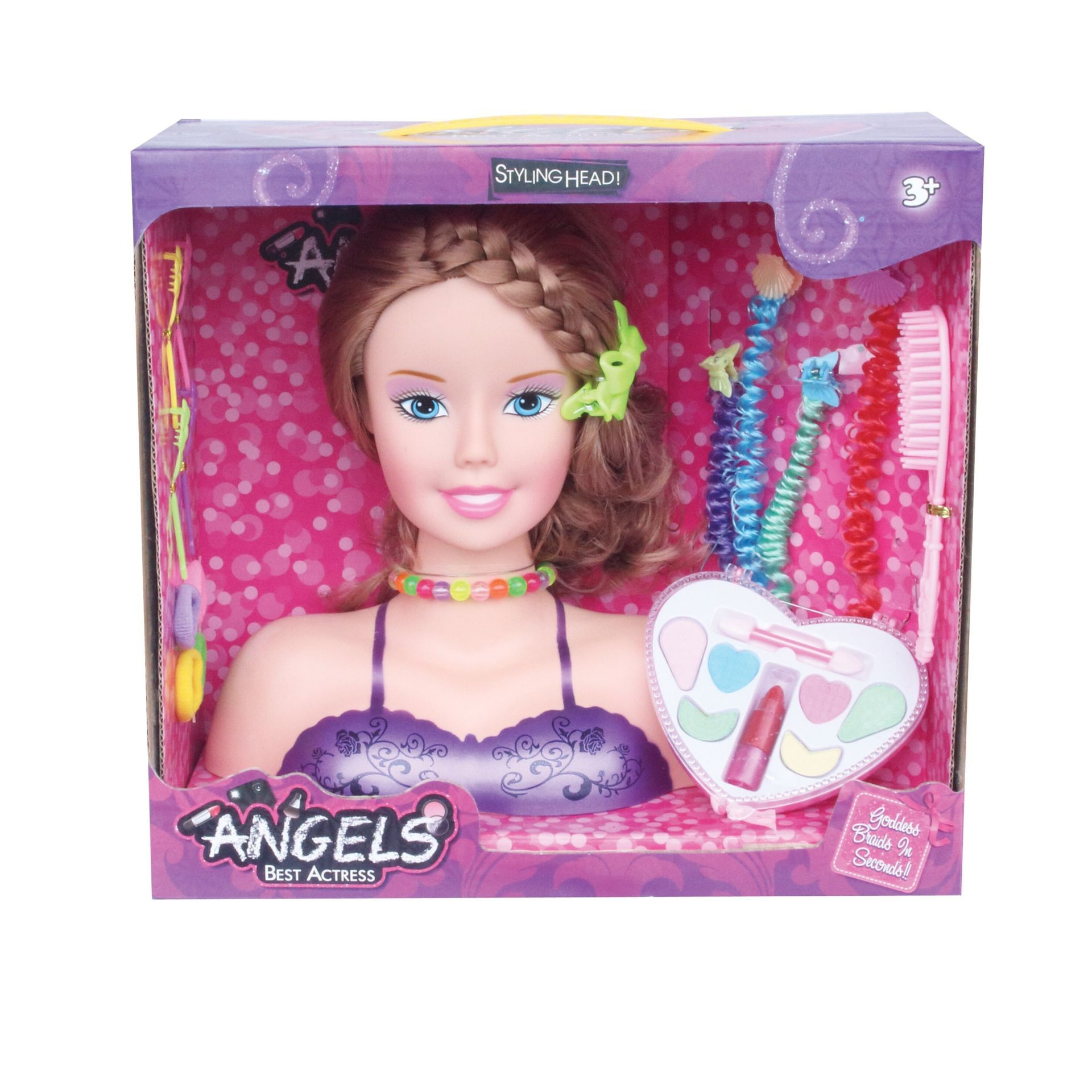 Princess Styling Head Playset With Fashion Accessories