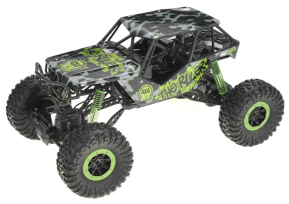 1:10 2.4G 4WD Rally Rock Crawler Car Green
