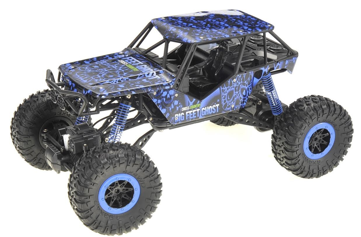 1:10 RC 2.4G 4WD Rally Rock Crawler Car (Blue)