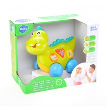 Talking Dinosaur Toy With Lights, Sounds, And Educational Activities