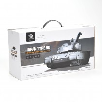 1:24 Defense Force Type 90 RC Airsoft Battle Tank
