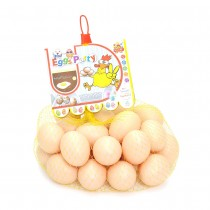 Bag Of Realistic Chicken Eggs Toy Food Playset (Pack Of 30 Fake Eggs)