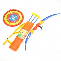 Kids Archery Bow And Arrow Toy Set With Target