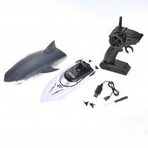 2 in 1 Radio Remote Controlled Shark Speedboat