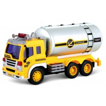 Friction Powered Oil Tanker Truck Toy With Lights and Sounds