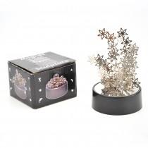 Magnetic Desktop Sculpture (Snowflakes)