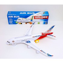 Toy Airplane with Flashing Lights and Sound