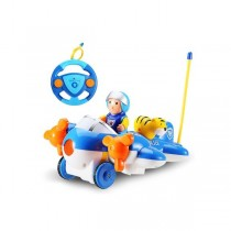 Cartoon RC Airplane for Kids (Blue)