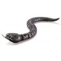 Realistic Remote Control RC Snake With Egg Shaped Controller (Black)