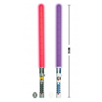 2 In 1 LED Light Up Swords Or Double Bladed Saber