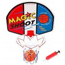 Magic Shot Mini Basketball Hoop Set With Ball And Pump