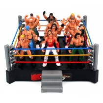 Little Wrestlers Rumbling Cage Set