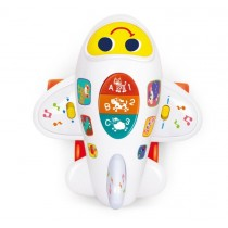 Airplane Learning Bump & Go Toys for Toddler w/Light & Music