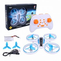Mini LED Quadcopter For Beginners (Blue)