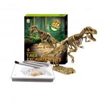 Dinosaur Excavations Kits – Unearth 3D Dinosaur Bones - T-Rex