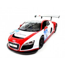 "12"" 1:14 Audi R8 LMS Performance Model w/ LED Lights (Red)"