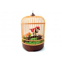 Singing & Chirping Bird in Cage - Realistic Sounds & Movements BC507E
