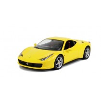 "12""  1:14 scale Ferrari 458 Italia Yellow"