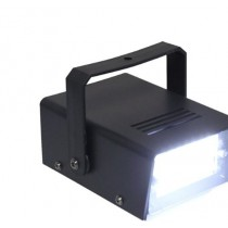 LED Mini White Flashing Strobe Light