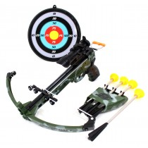 Military Toy Crossbow Set w/ Target