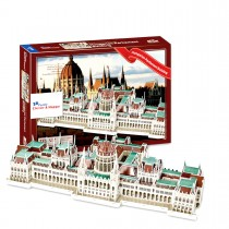 The Hungarian Parliament Building - Budapest 3D Puzzle (237 Pieces)