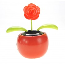 Solar Flower Toy (Red)