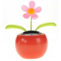 Solar Flower Toy (Pink)
