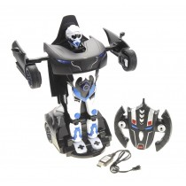1:14 RS Transformer 2.4G Robot Car Black