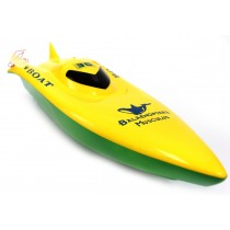 "23"" Balaenoptera Musculus Racing Boat (Green/Yellow)"